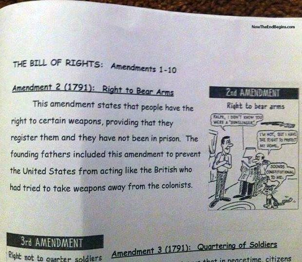 an analysis of second amendment from united states constitution The second amendment of the united states constitution reads: a well regulated militia, being necessary to the security of a free state, the right of the people to keep and bear arms, shall not be infringed.