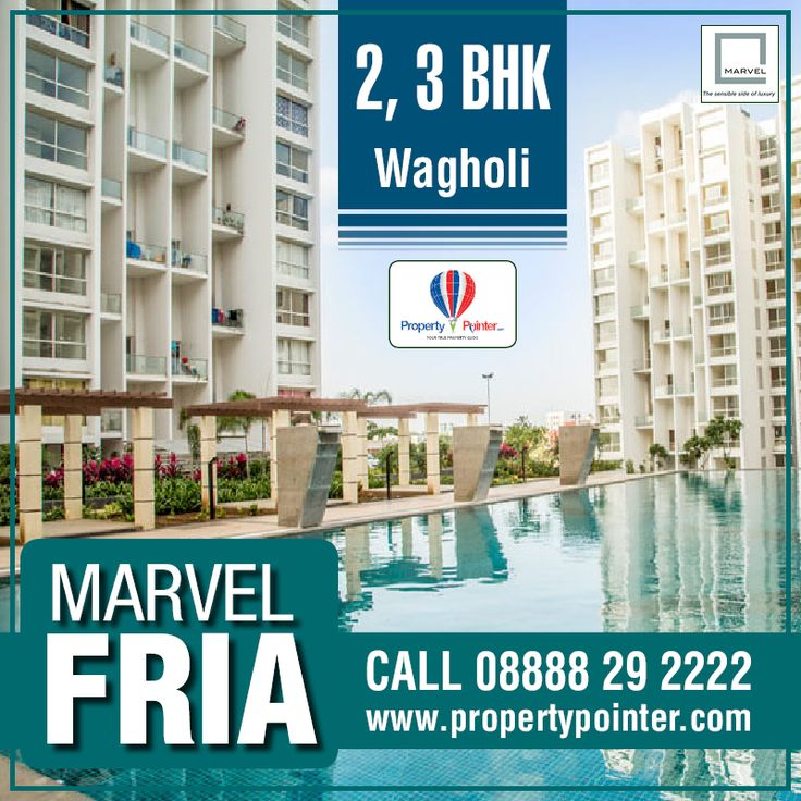 Marvel Fria Wagholi Pune is not only a marvel, but a sumptuous residential project. Be it the architecture, amenities, exterior & interior design, campus, location, or any other components; Marvel Fria Wagholi Pune is perfect in all its aspects providing 2 BHK and 3 BHK affordable apartments. For more details visit at http://goo.gl/5mEz1T