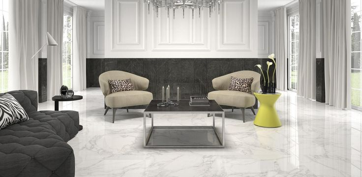Crystal White 24x24 (floor) porcelain #argenta