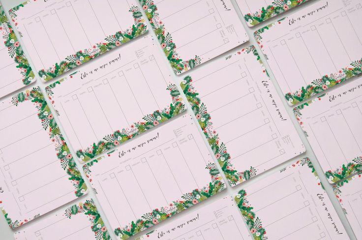 Desk pad planners