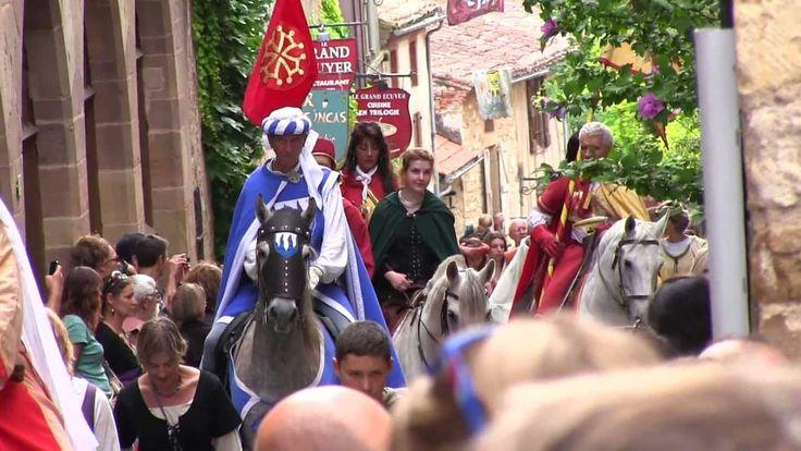 Fêtes médiévales Grand Fauconnier - Cordes sur Ciel