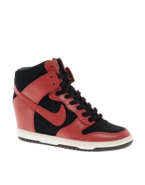 Nike кроссовки на каблуках купить