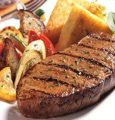 Rich and tender steak. The best! Charleston Eye of round.