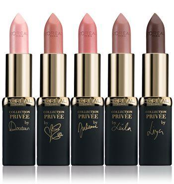 Nude sur lèvres http://www.vogue.fr/beaute/buzz-du-jour/diaporama/rouge-a-levres-vernis-l-oreal-paris-egeries/14876