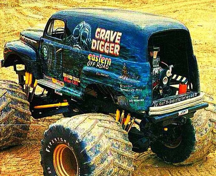 the original FORD Grave Digger.