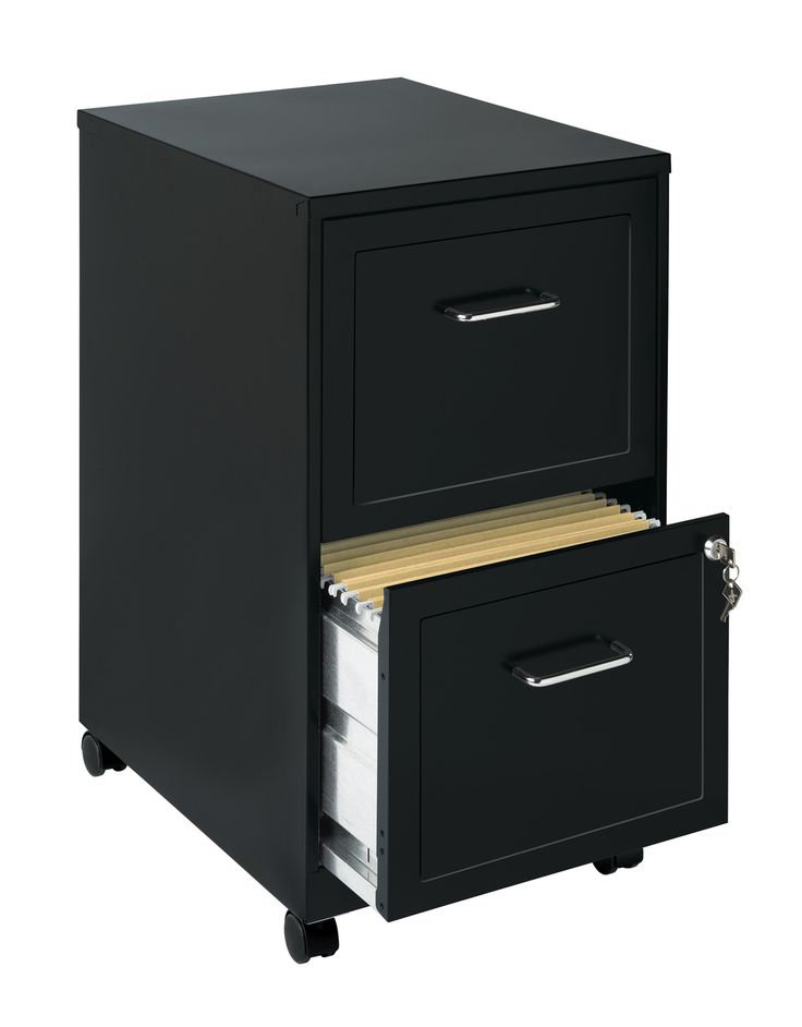 Office Designs Black 2-drawer Mobile File Cabinet - Overstock Shopping - The Best Prices on Mobile Files