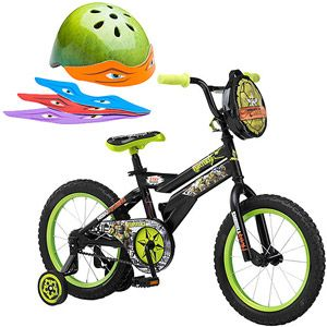 "16"" Teenage Mutant Ninja Turtle Bike & Helmet Value Bundle"
