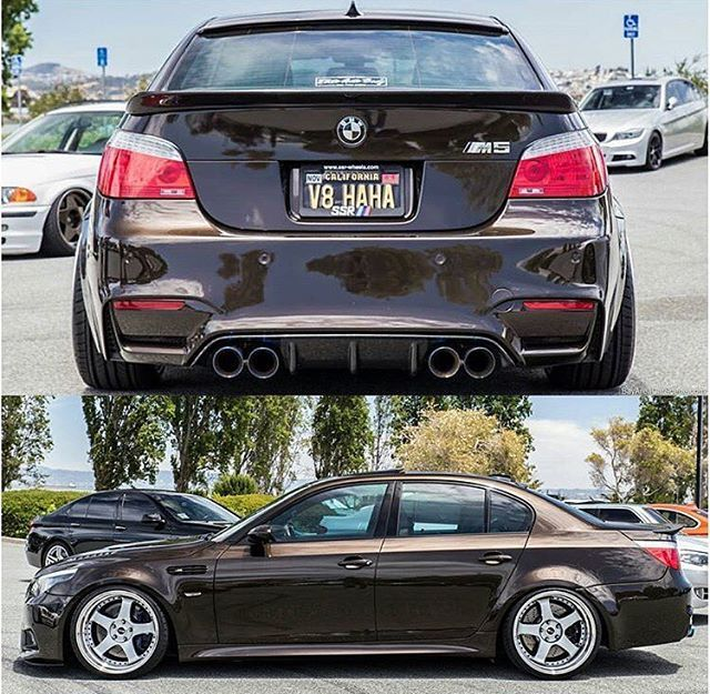 For Sale: Custom Widebody Pyrite Brown E60 M5. This Car Is