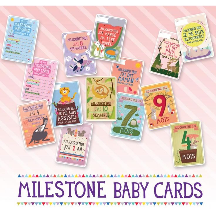 Beliebt 10 best Carte étapes bébé images on Pinterest | Baby cards  GH79