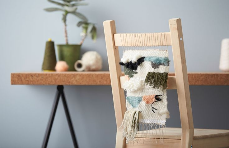 Get creative with a weaving project. Come check out our interior stylist's easy step-by-step guide to learn how.
