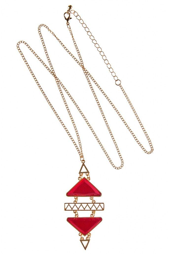 Louche Geo Necklace - Jewellery & Watches - Accessories - Womenswear Joythestore