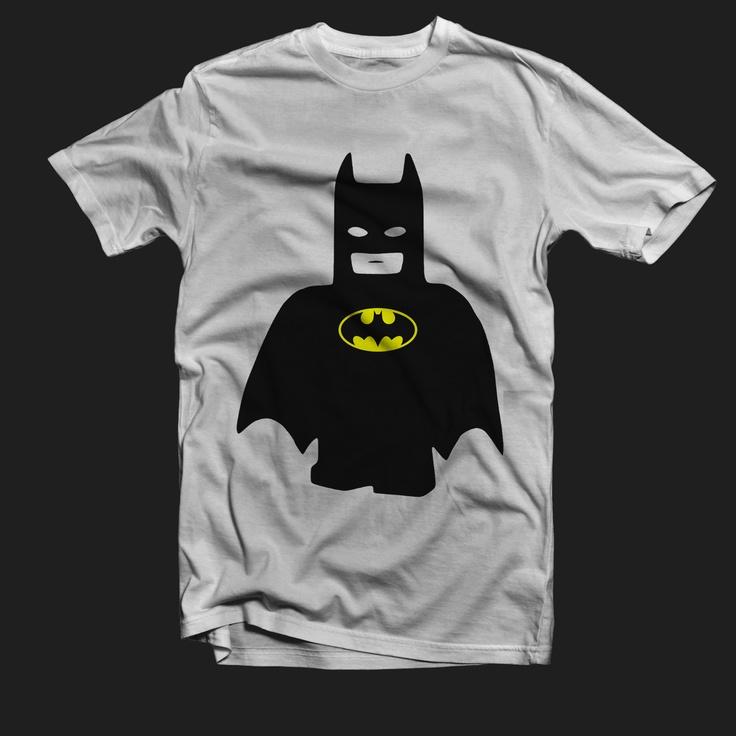 Lego Batman Custom White T-Shirt Tee All Size XS-XXL ...