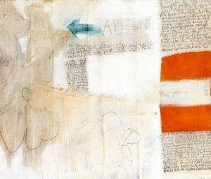 Gastone Novelli - Con un segnale.