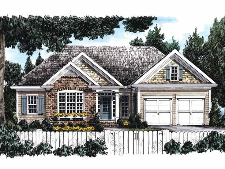 Eplans cottage house plan well planned layout 1591 for Builder house plans cottage of the year