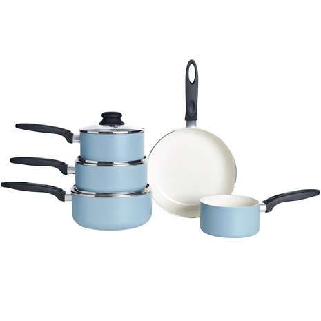 Brabantia Minty 5 Piece Pan Set