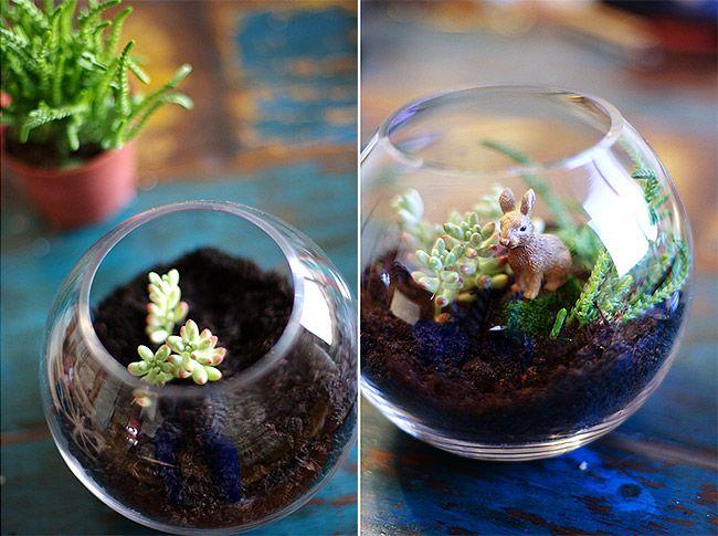Pour le seul plaisir d'utiliser ses mains à d'autres faits que tabasser un clavier, Morgane nous a préparé un « fait le toi même » spécial jardin d'hiver pour anti-dégourdie ! Le nécessaire un bocal, des plantes grasses, du sable type quartz pour aquarium, de...