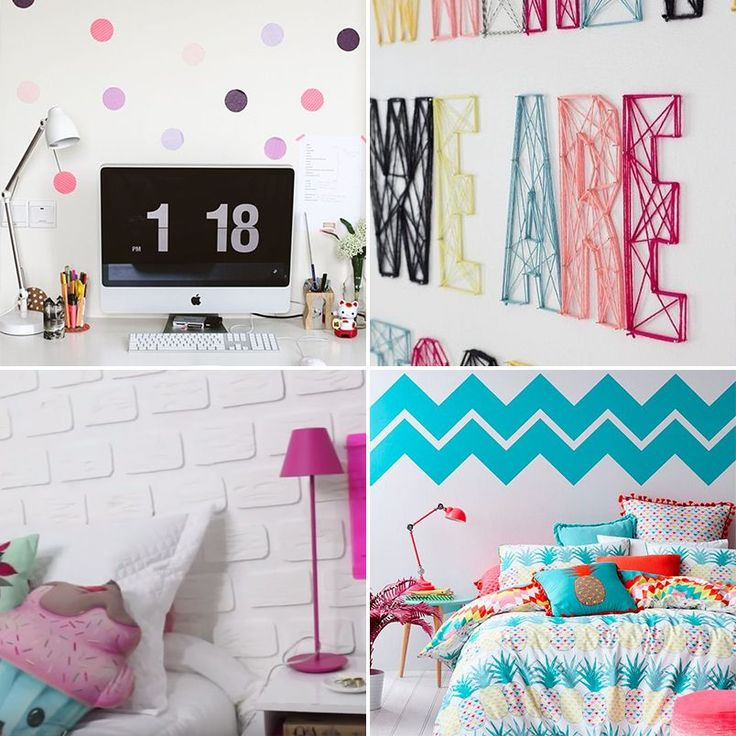 DIY: 24 ideias criativas e econômicas para decorar e organizar o quarto - Casinha Arrumada