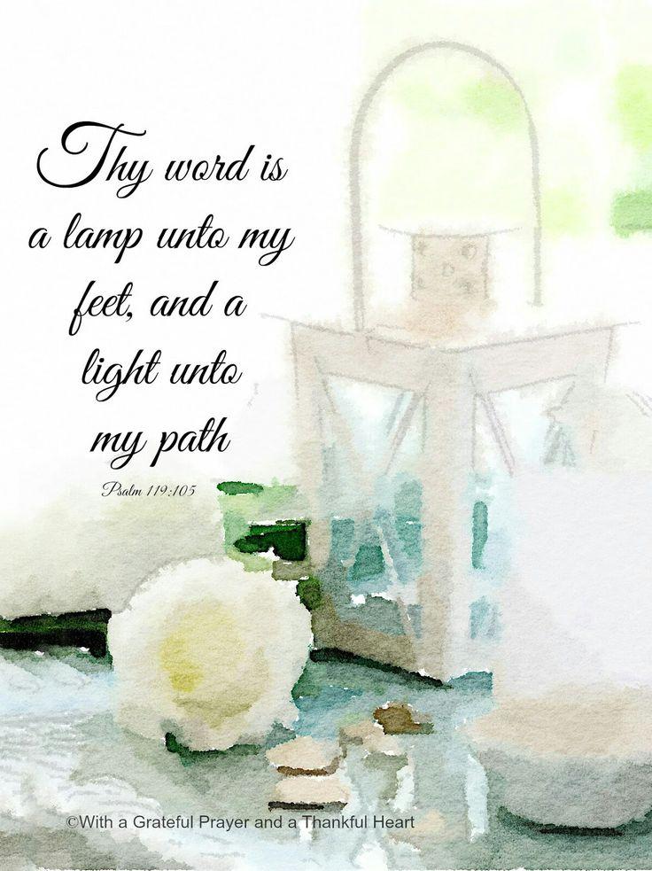 The 25+ best Psalm 119 105 ideas on Pinterest