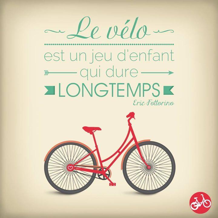 Le vélo, ce jeu d'enfants que j'aime enormement !