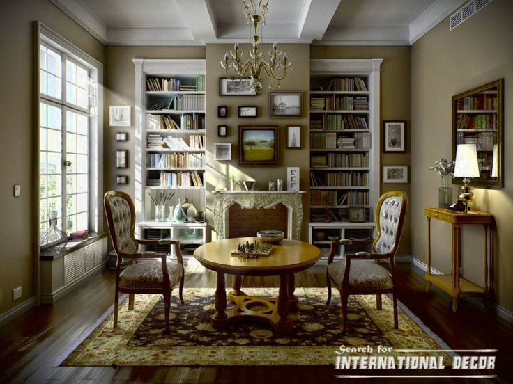 Find This Pin And More On Classic Interior Design Styles