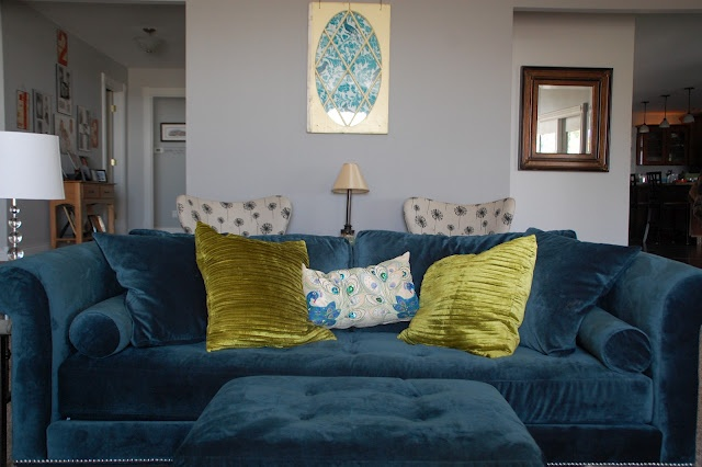 Peacock Blue Sofas Homemakers Furniture Old Window