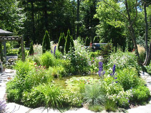 Plus de 1000 id es propos de bassin d 39 ext rieur sur pinterest cascade - Comment construire un bassin de jardin ...