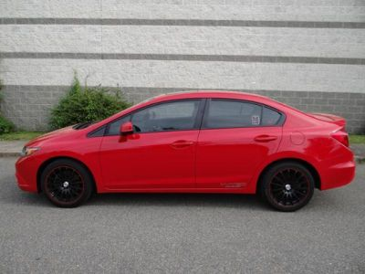 2012 Red Honda Civic