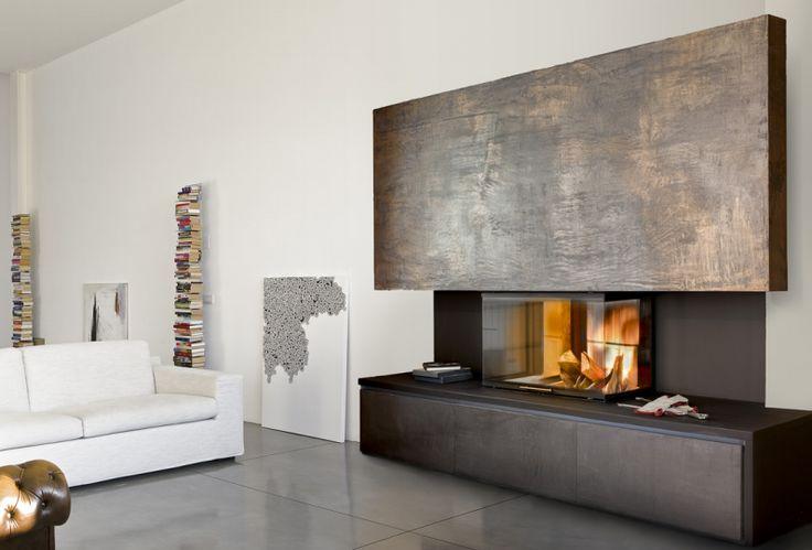 Più di 25 fantastiche idee su Parete Con Camino su Pinterest  Design per camera familiare ...