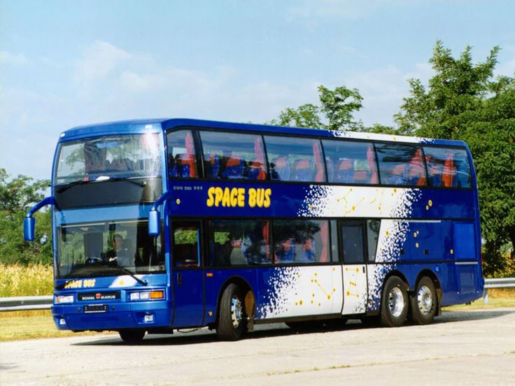 Ikarus E99 Scenicruiser Bus 1995–98 Year Model
