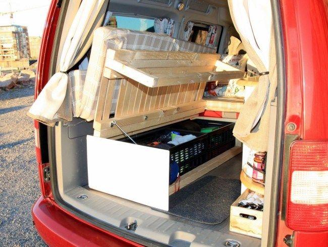Custom Rv Camper Van Stealth Conversion Kombi Home Carros E Viagens