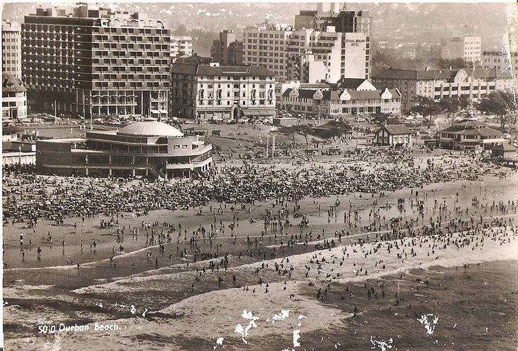 South Beach, with Lido in the foreground, DURBAN
