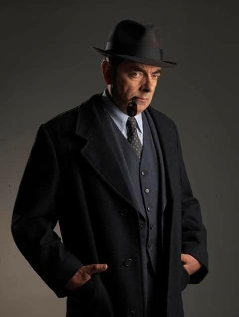 Rowan Atkinson as Maigret.