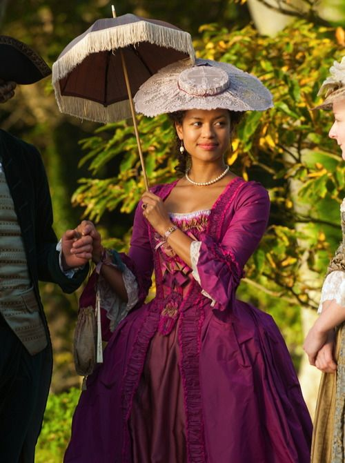 Gugu Mbatha-Raw in the title role ofBelle (2014). She reminds me of my cousin Radhika!