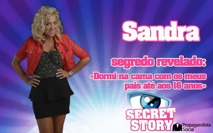 Segredo de Sandra revelado   Propagandista Social