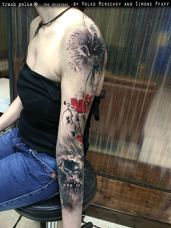 As+incríveis+tatuagens+de+Volko+Merschky+e+Simone+Pfaff+ +Tinta+na+Pele