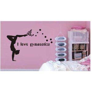 12 best Wall decals images on Pinterest Gymnastics bedroom
