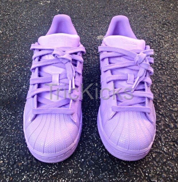 adidas superstar lilas