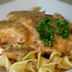 Slow Cooker Beef Stroganoff I - Allrecipes.com