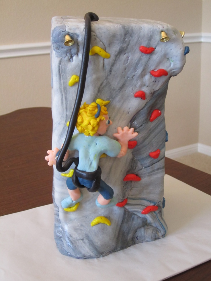Cake Designs Rock Climbing : 1000+ images about climbing cakes on Pinterest Train ...
