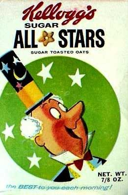 All-Stars cereal c. 1961