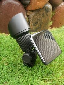 YardBright White High Output Solar Spot Light