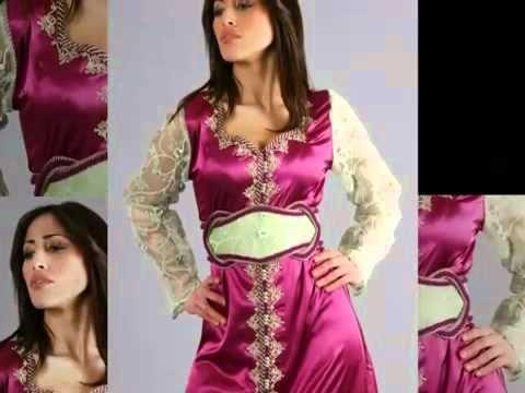 El Caftan Marroqui- el vestido tradicional de las mujeres en Marruecos - YouTube
