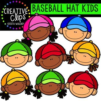 Kids baseball clip art