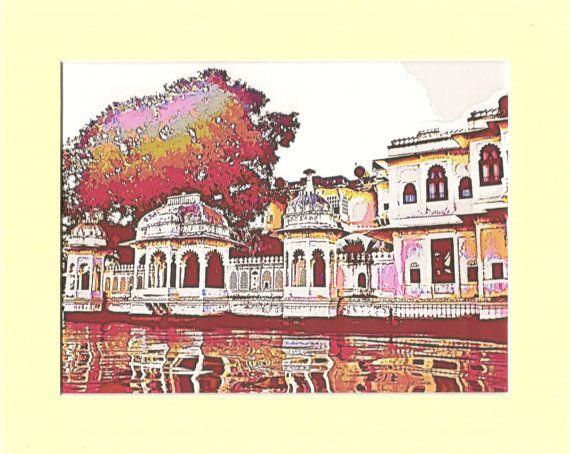 Jag Mandir Rajasthani Lake Palace Udaipur by MayBlossomDesigns