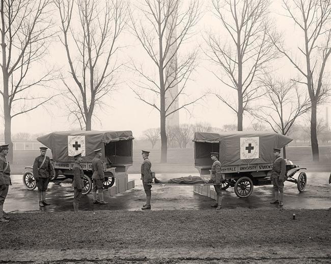 World War I Ambulances