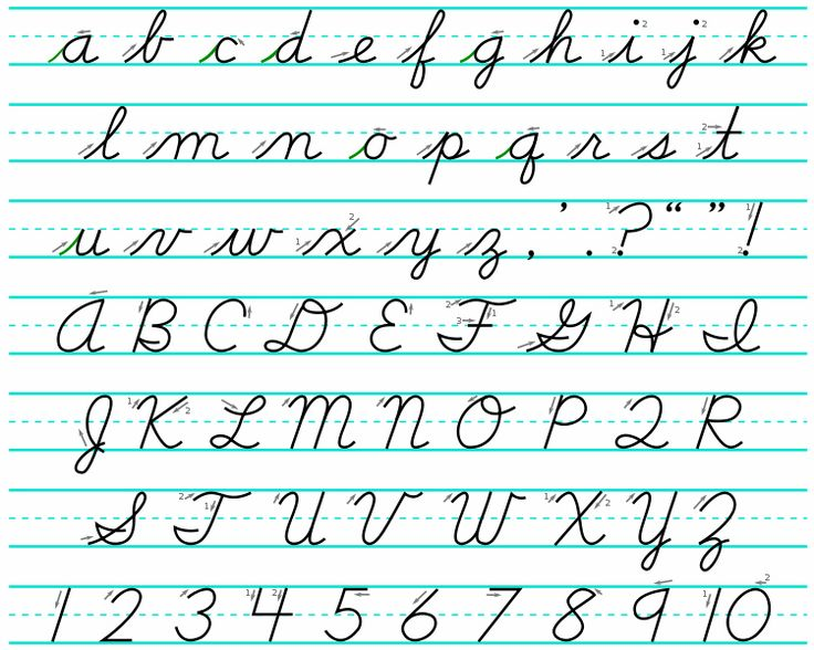 Worksheets Cursive A the 25 best ideas about cursive alphabet on pinterest writing