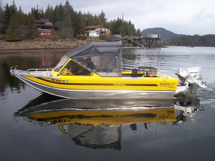 20ft northwest jet boat willet fish willett fish comes for Alaska fishing boats