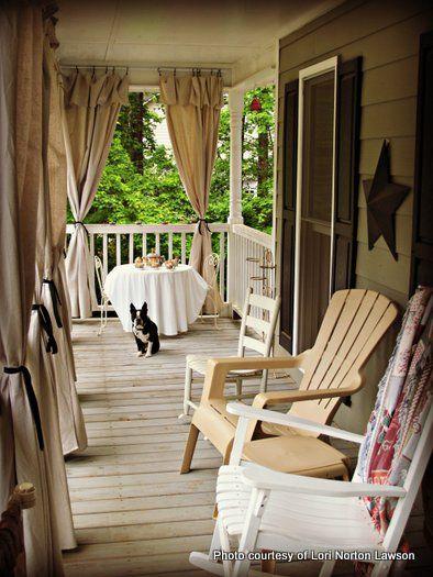 Best 10 Porch curtains ideas on Pinterest Patio curtains