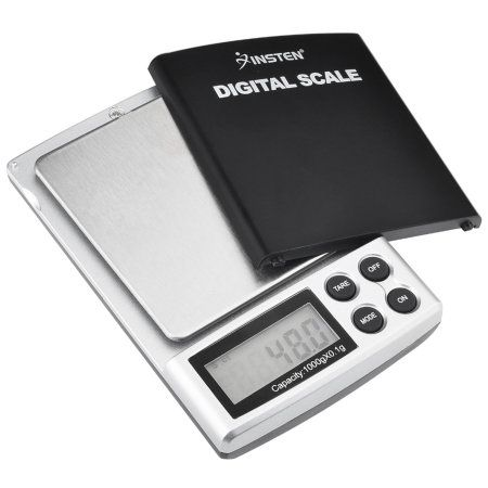 Or any digital scale! As long as it measures grams.