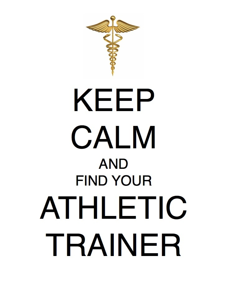 For all of my athletic training buddies out there!!!!  Enjoy!